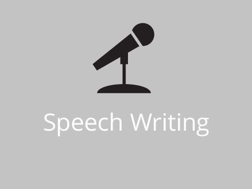 Speech Writing <span>Capture the imagination</span>